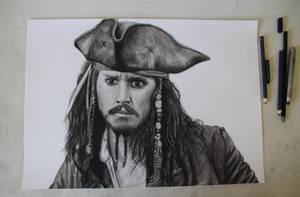 Captain Jack Sparrow portrait