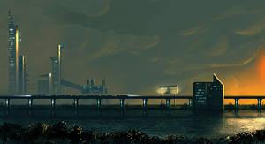 Cyberpunk'ish environment