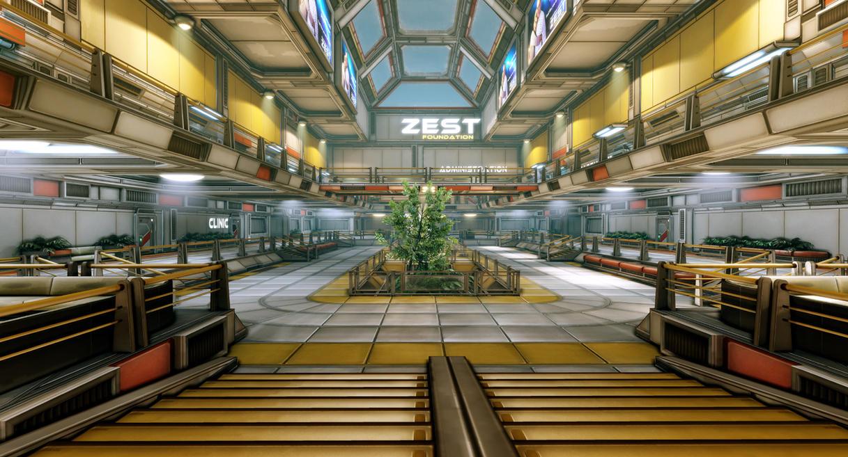 Deck A2 - The Embassy Center Sci_fi_apartment_complex_by_thiagoklafke-d2xpdfi