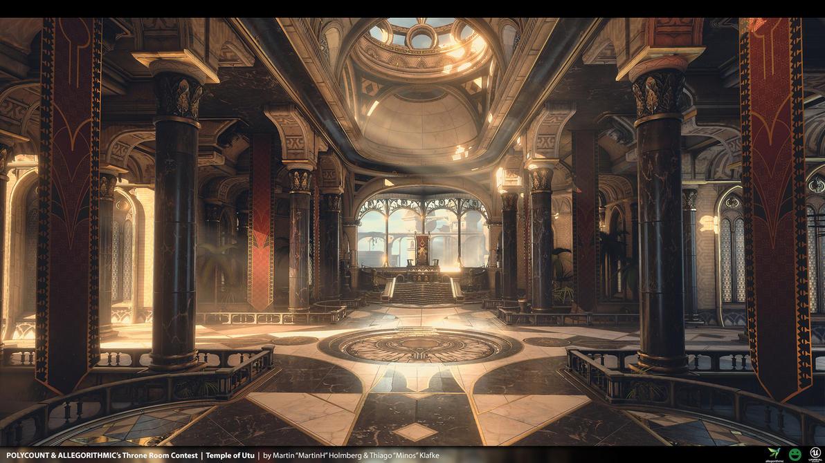 Temple Of Utu - Unreal Engine 4 Environment by thiagoklafke