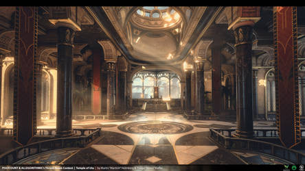 Temple Of Utu - Unreal Engine 4 Environment