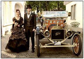 Steampunk Wedding 1 by flosvensson