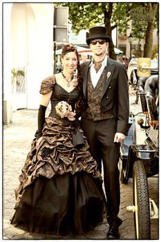 Steampunk Wedding 2