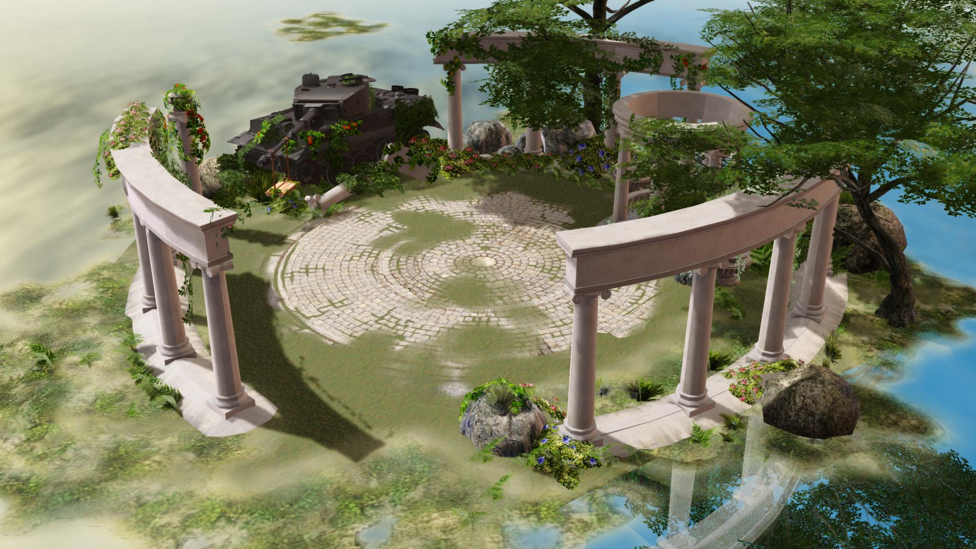MMD STAGE Silent Garden V1.00 DL!!! by samsink