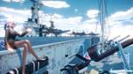 MMD STAGE USS CVL48 Saipan[WOWS]Ver 1.00 DL!!!
