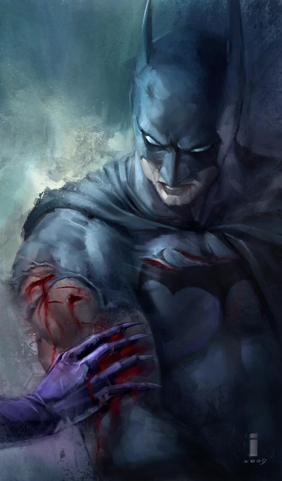 Batman by ivangod