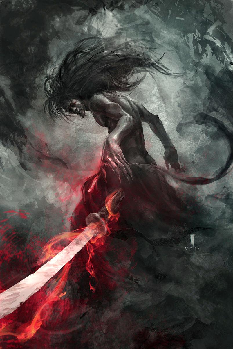 Samurai's soul by ivangod