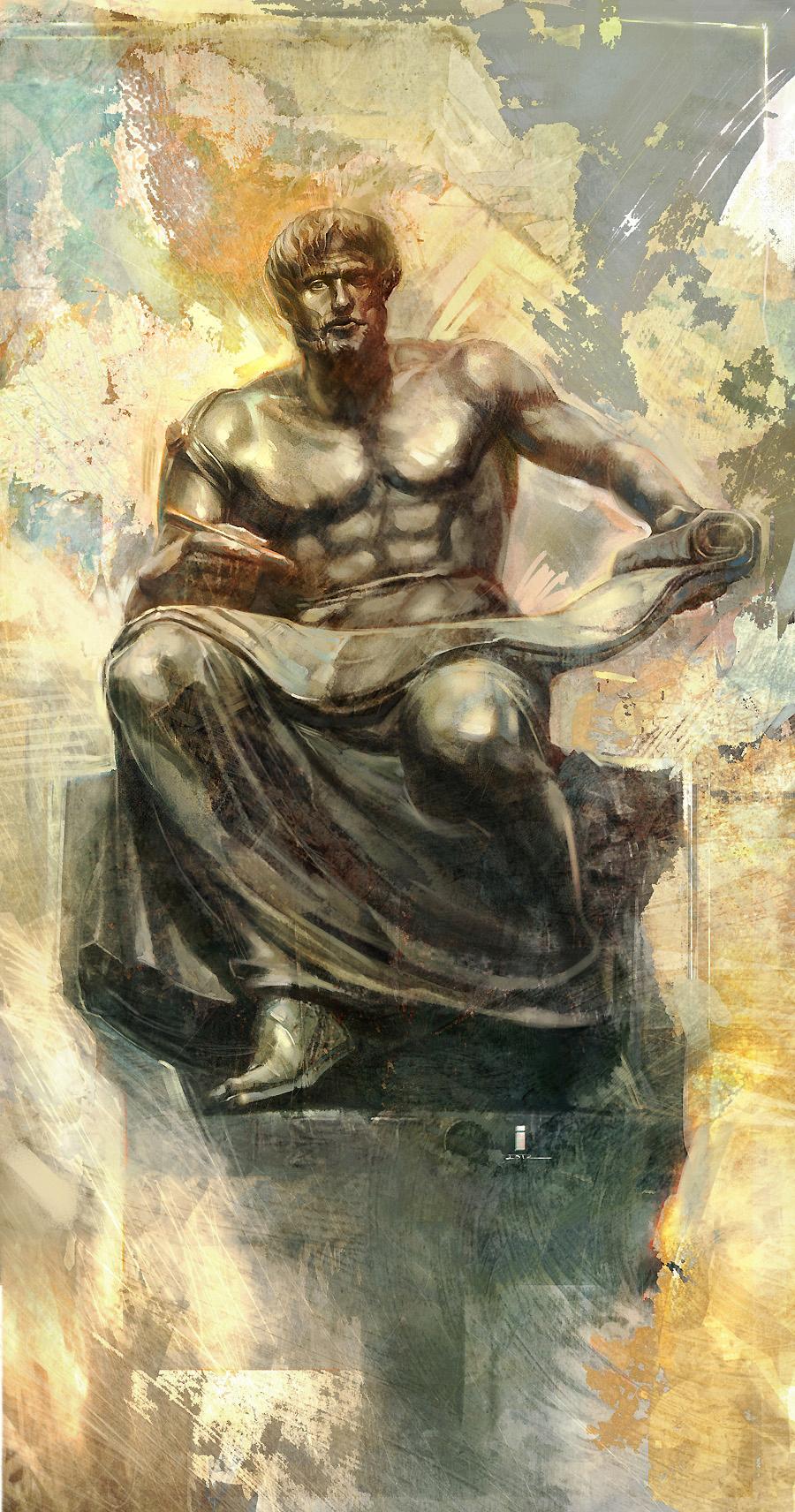 Aristotle by iVANTAO on DeviantArt