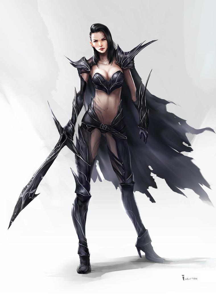 Black Warrior by ivangod
