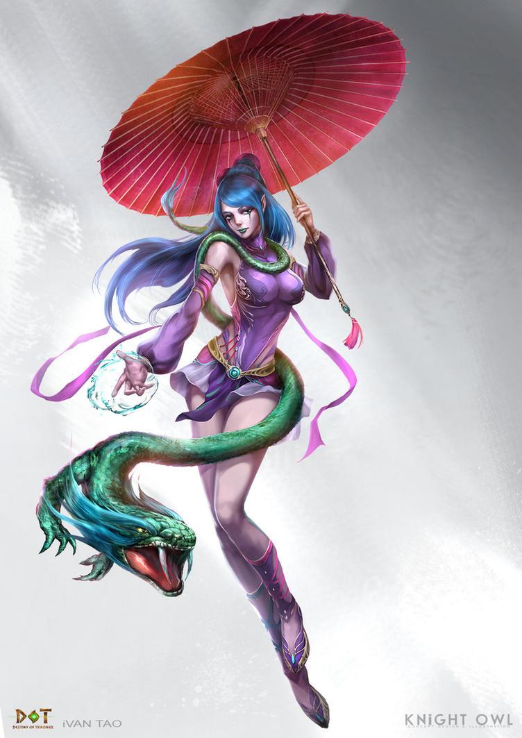 Yu Shi by ivangod