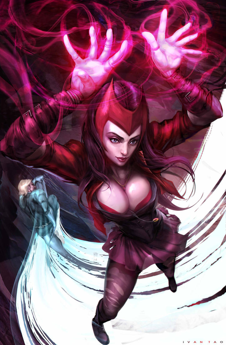 Scarlet Witch by ivangod