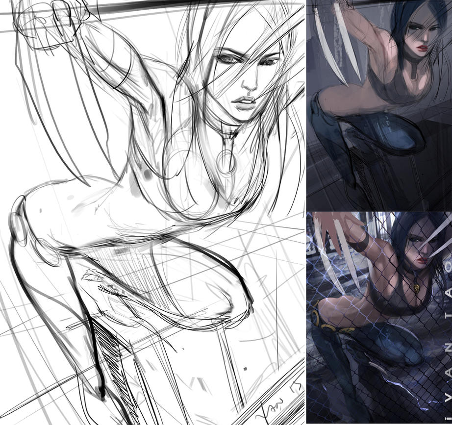 X 23 Step by step by ivangod