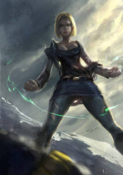 Android 18- battle