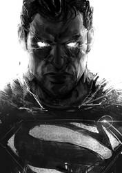 Superman sketch by iVANTAO