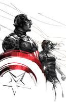 Captain America civil war by iVANTAO