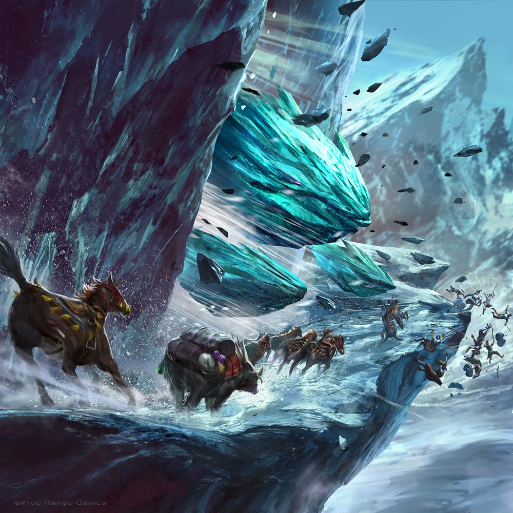 Ice Golem by iVANTAO