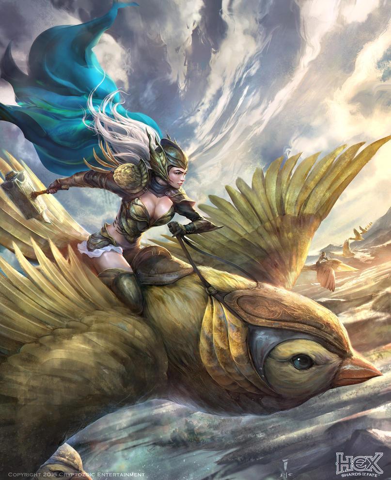 Phoenix Guard Tactician by iVANTAO