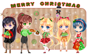 Merry Christmas- Sailor Scouts