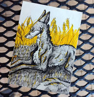 ACEO ~ Yellow Day by fluorescent-lobster