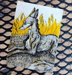 ACEO ~ Yellow Day