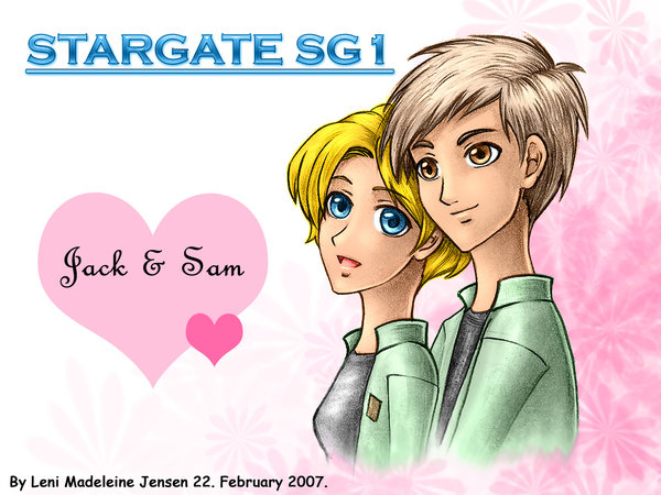 SG - Jack and Sam 4Ever by Stargate-SG-1-Club