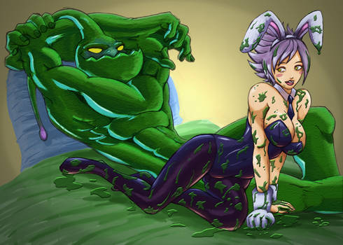 Riven and Zac by qpmjcv