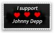 Johnny Depp Stamp by Jammen6