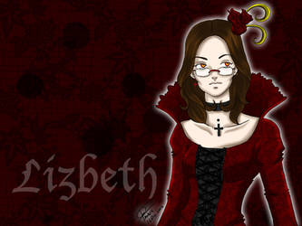 .:Lizbeth vampire:. by Chaak-kun