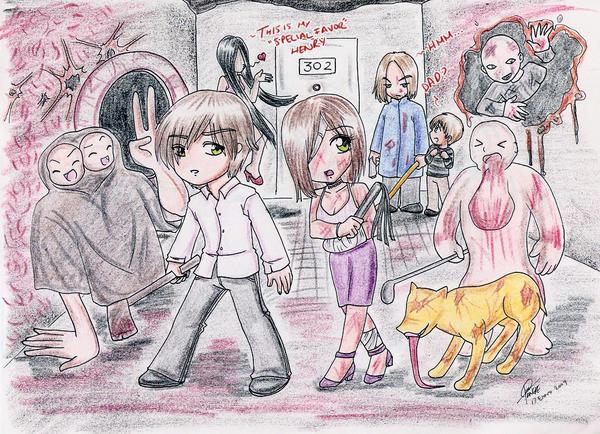 Silent Hill 4 Fan Art XD by Chaakkun on DeviantArt