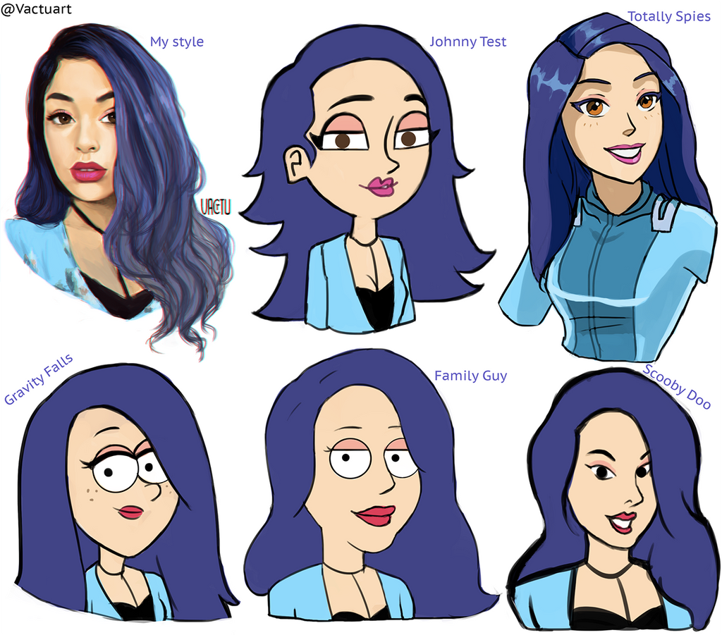 Style Challenge By Vactuart On Deviantart