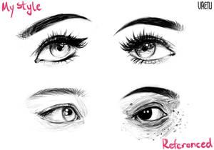 Eye sketches