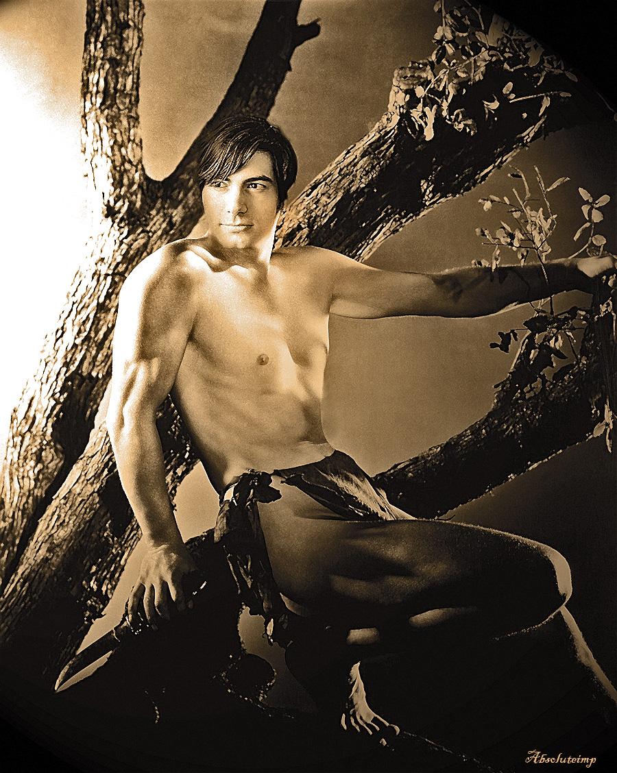 Brandon as Tarzan by TheRealImp