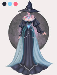(CLOSED)Adopt auction outfit witch 79