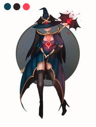 (CLOSED)Adopt auction outfit witch 85