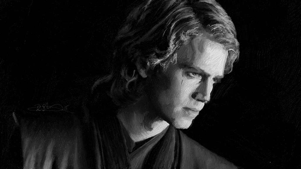 Star Wars Anakin Skywalker Wallpaper: Star Wars By Raesh3ll On DeviantArt