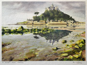 St. Michaels Mount, Cornwall * SOLD * by dominikgschwind