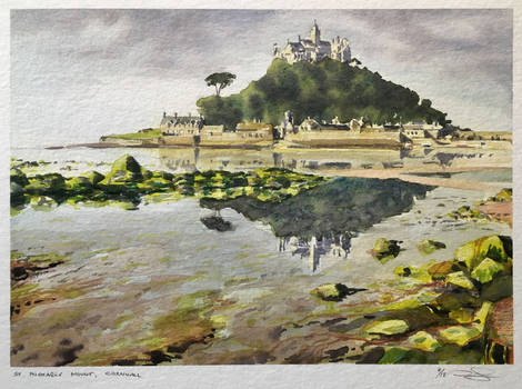St. Michaels Mount, Cornwall * SOLD *