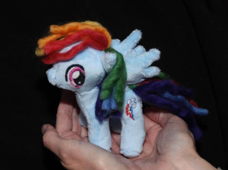 Mini Rainbow Dash - 20% cooler!