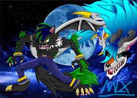Super Full Moon Duo! (Old Art Trade)
