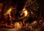 Sigurd vs Fafnir