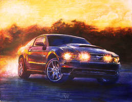 Ford Mustang '11 by skian-winterfyre