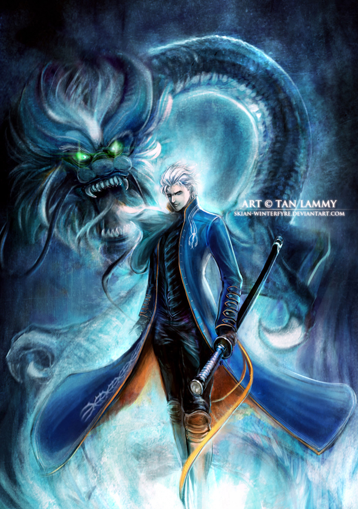 Vergil -dark dragon- by skian-winterfyre