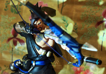 Overwatch | Blizzard Collectibles: Hanzo Shimada by skian-winterfyre
