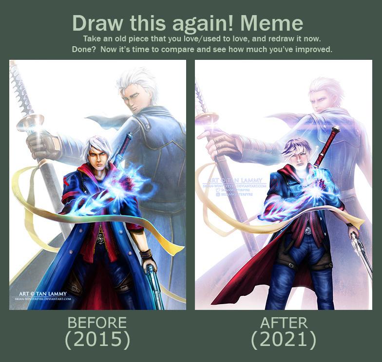 Draw This Again - DMC4SE Legacy 2015/2021