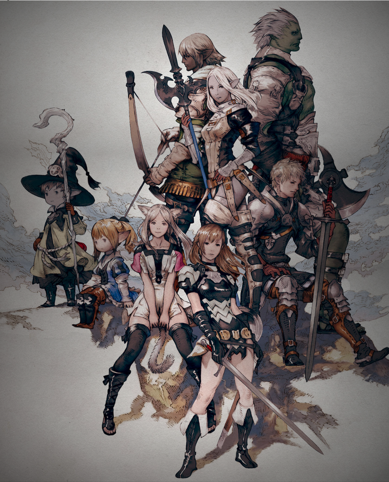 how to play final fantasy xiv for free