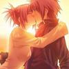 anime kiss av by Sellena19