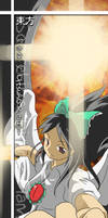 Bookmark: Utsuho Reiuji by howeirong