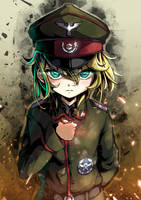 Youjo Senki - Tanya by howeirong