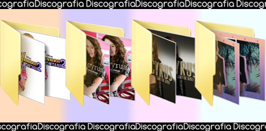 Discografia: Miley Cyrus by GiveaHeartAttack