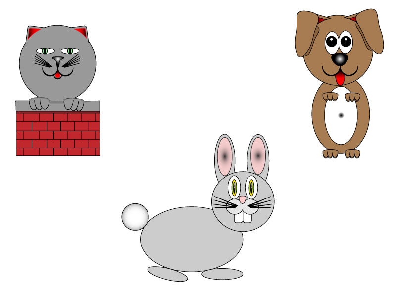 Simple Shapes Animals By TreAzon88 On DeviantArt